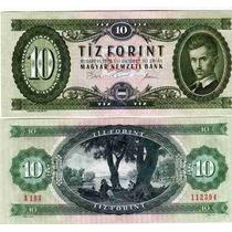Billete De Hungria Año 1975 10 Forint Sin Circular