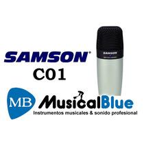 Microfono Samson Co1 Cardioide Condenser Conector Xlr C/ Est