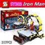 Iron Man Suit Up Stage Colección Avengers