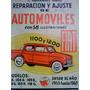 Libro-manual De Reparación De Fiat 1100 (varias Versiones)