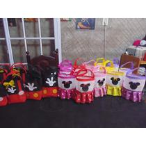 Bolsitas De Mickey Y Minnie Unicas