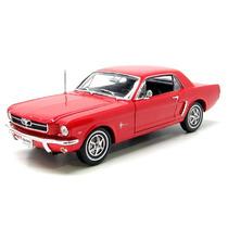 Auto De Colección Metal 1964 Ford Mustang Welly