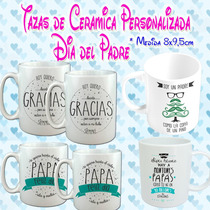 Souvenirs Tazas Personalizada Sublimada Dia Del Padre Ragalo