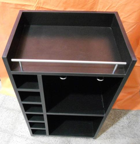 Bodega vinoteca mueble madera melamina bar living copero for Software para fabricar muebles de melamina