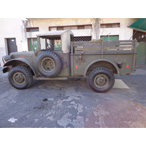 Dodge M37 B1 4x4 (willys Mb Gpw Guerrero Jeep Militar V8)