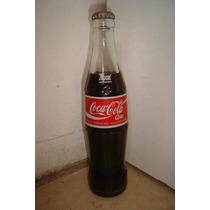 Botella Coca Cola 285cm3 Antigua Llena Dec.
