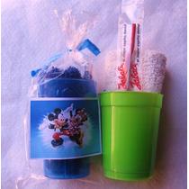 Vasito+cepillo+toalla Color+sticker - Yk42artesanias