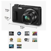 Panasonic Lumix Camara Digital Dmczs45 Wi Fi Selfie Rotativa
