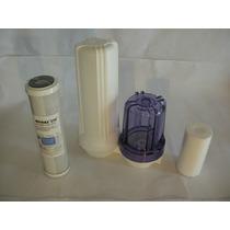 Filtro Purificador De Agua Tipo Bajomesada Doble Acción