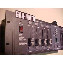Consola American Pro Dmp 408 4 Can. Dimmer 1500 W Garmath Dj