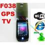 Celular F038 Dos Líneas Liberadas, Wifi, Gps, Fm, 2 Cámaras