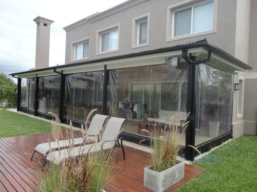 Cerramientos de lona cristal quinchos galerias toldos - Cerramientos de pvc para terrazas ...