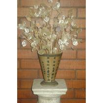 Bouquet De Flores Secas, Hierbas De La Plata & Amapolas.