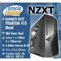 Gabinete Mid Tower Nzxt Phantom 410 Metal Fans X 3 Usb 3.0