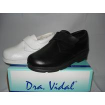Zapato Con Velcro Dra Vidal M3036