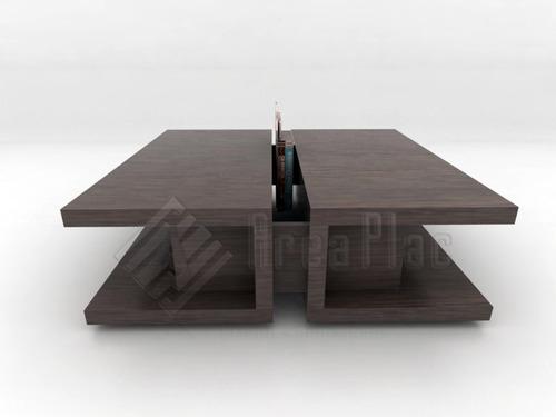 Mesa ratona wengue mueble dise o minimalista area plac for Zapateros de diseno minimalista