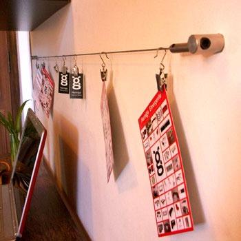 Ganchos para tensores o cortinas oficinas otros a ars 14 for Ganchos para colgar cortinas