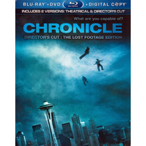Blu-ray Chronicle / Poder Sin Limites / Blu Ray + Dvd