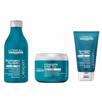 Shampoo Mascara Termo Portector Pro Keratin Loreal Keratina