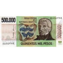 Billete 500.000 Pesos Ley Sin Circular