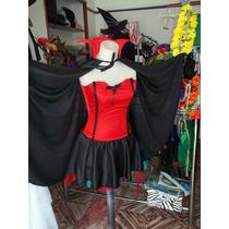 Disfraz Adulto Traje Vampiresa Sexy- Vaquita De San Antonio