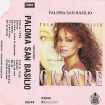 Paloma San Basilio Grande (1987) Cassette Argentino