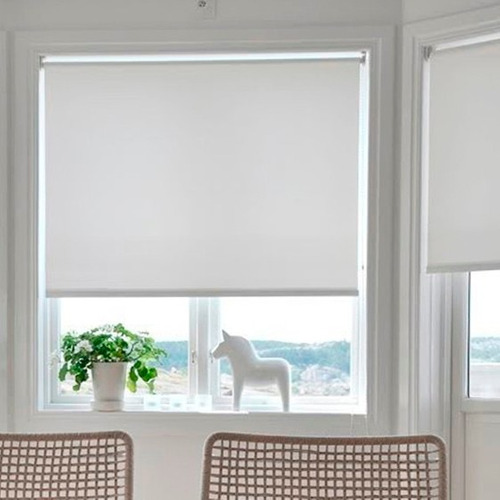 Cortinas roller blackout listas para instalar en sistema for Cortinas black out precios