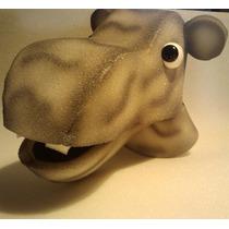 Titeres En Goma Espuma: Hipopotamo
