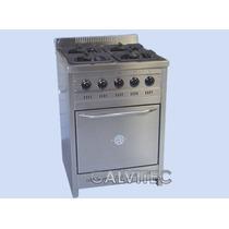 Cocina Semi Industrial Acero Inox 60 X 60 Ahora 12 Haedo
