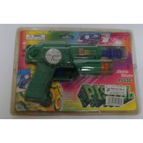 Pulse Pistol A Pila Pistola Blister Revolver Espacial Anda!