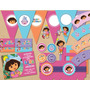 Kit Imprimible Candy Bar Dora - Editable + Fonts #203