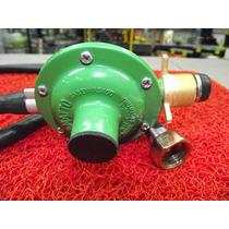 Regulador Gas Para Garrafa 10 Kg 1,5 Mt De Manguera Floresta