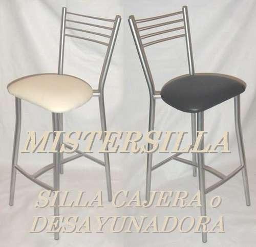 Banquetas altas para barra o desayunador sillas banco for Sillas para desayunador
