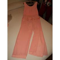 Traje De Casamiento (pantalón Y Blusa) Seda Y Crepe $ 730