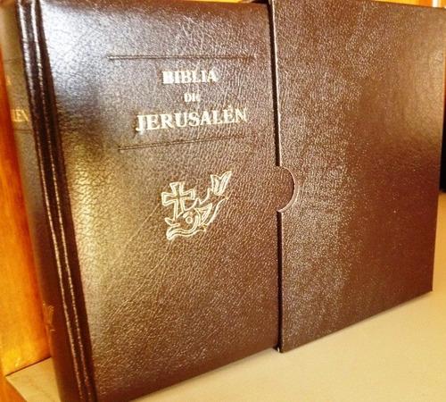 3c18f57ac96 Biblia De Jerusalén Bolsillo Md2 Ddb