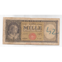 Italia Billete 1000 Liras Año 1947 Picks 83 !!!!