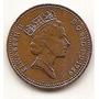 Moneda Gran Bretaña Inglaterra 1 Penny One Penny Año 1989