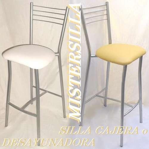 Banquetas altas para barra o desayunador sillas banco for Sillas altas para barra