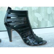Sandalia Bota Zapato Importado Nº 37 38 Miss Sixty Firmado