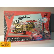 Scrabbel Juego De Las Palabras Cars Disney Crucigramas