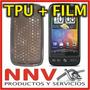 Funda Silicona Tpu + Film Protector Htc Desire / G7 - Nnv