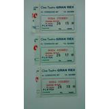 Soda Stereo Entrada Recital 1991 Teatro Gran Rex