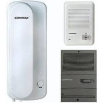 Kit Portero Electrico Commax Embutir O Exterior