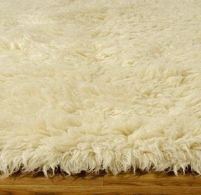 Carpeta alfombra flokati 200 x 300 cm 100 lana - Alfombras de lana a medida ...