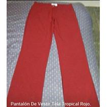 2 Pantalones *nox* De Tela Tropical Nuevos...!!!
