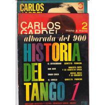 Lote 3 Discos Historia Del Tango Carlos Gardel