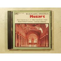 Cd Musica Clasica Mozart Concertos 1-3 Año 1994 En La Plata