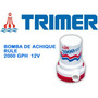Bomba De Achique Sumergible- Rule 2000 Gph - 12 V
