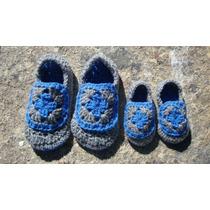 Pantuflas Crochet Para Niños!