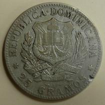 República Dominicana Un Peso Plata 1897 Excelente.